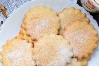 Замечательный рецепт печенья за 15 минут